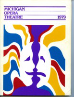 [Program] Michigan Opera Theatre: 1979