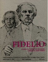 [Program] Detroit Symphony Orchestra in cooperation with Michigan Opera Theatre, 1981: Fidelio