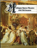 [Program] Michigan Opera Theatre: 1987/88 Season