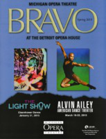 [Program] Bravo: Michigan Opera Theatre, Spring 2015, Dance Program