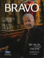 [Program] Bravo: Michigan Opera Theatre, Fall 2016
