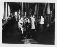 Men at Work in Cadillac Motor Car Company Factory
