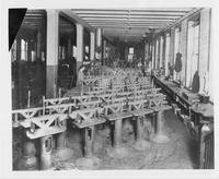 Interior of Cadillac Motor Car Company Factory with Wilfred Leland