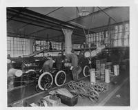 Ford Motor Company Factory Assembly Line