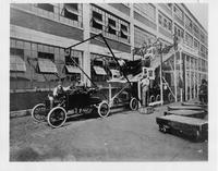Final Assembly Line at Ford Motor Company Factory