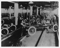 Interior of Dodge Brothers Company Factory
