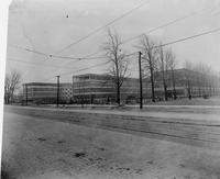 Chalmers Motor Company Factory Exterior