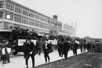 Chalmers Motor Company Workers at Factory During 1915 Street Car Strike