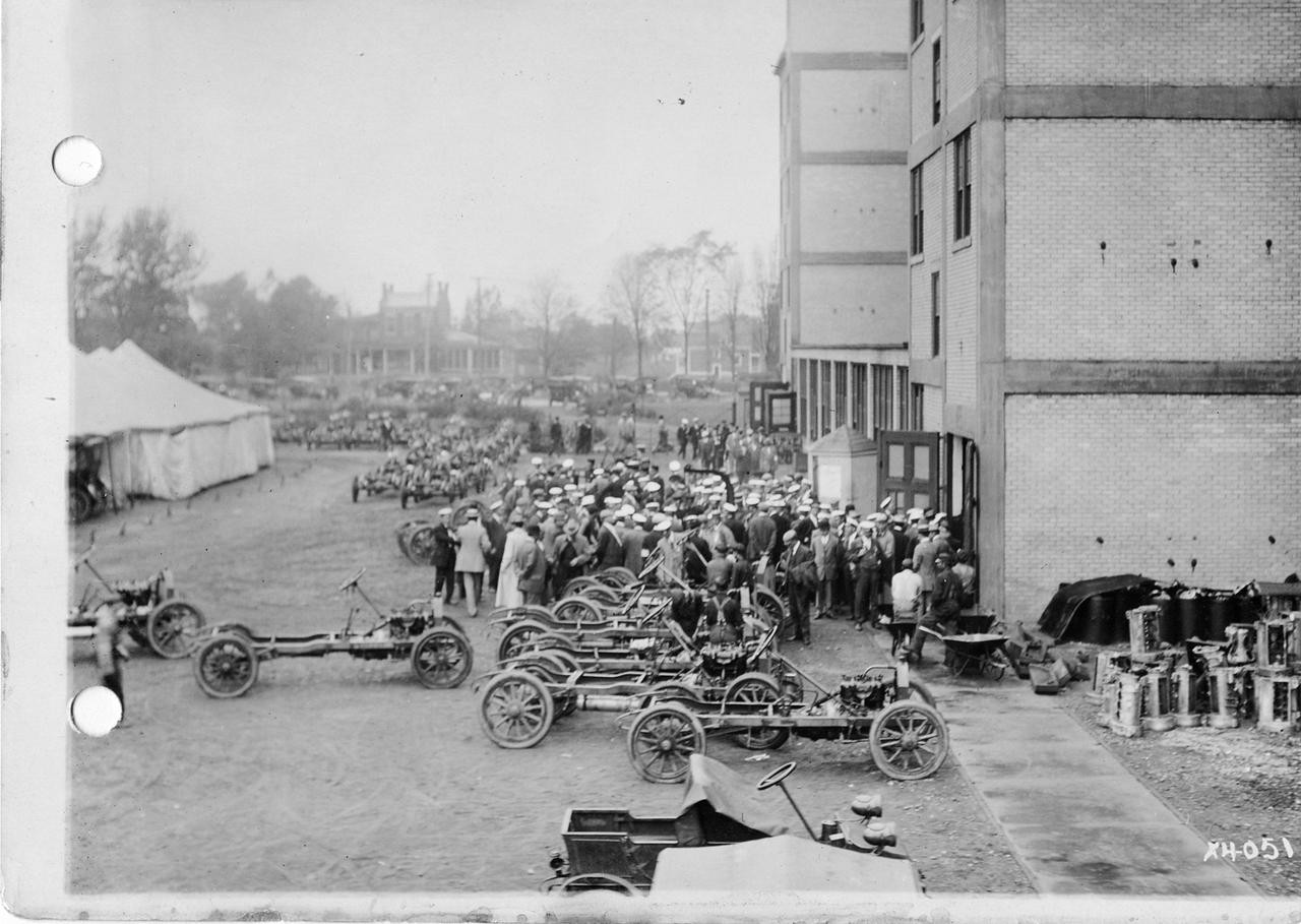 Chalmers Motor Company Factory Exterior View still image