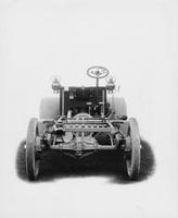 1906 Packard 24 Model S chassis, rear elevation