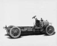 1906 Packard 24 Model S chassis, three-quarter rear right side