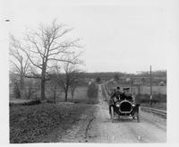 1907 Packard 30 Model U touring car on Woodward Ave. south of Long Lake Rd.