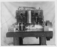 1907 Packard 30 Model U engine, left side