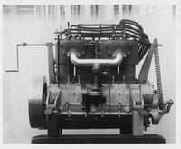 1907 Packard 30 Model U engine, right side