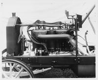 1907 Packard 30 Model U engine, left side on chassis