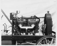 1907 Packard 30 Model U engine, right side on chassis