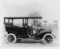 1907 Packard 30 Model U with canopy and rear enclosure