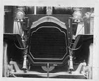 1907 Packard 30 Model U close-up of touring car radiator