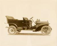 1907 Packard 30 Model U touring car, right side view