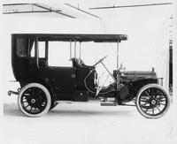 1908 Packard 30 Model UA demi-limousine, right side view
