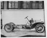 1909 Packard 30 Model UB chassis with hood in place