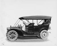 1909 Packard 30 Model UB touring car with cape top, left side view