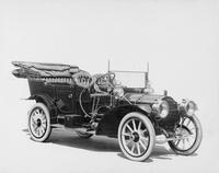 1909 Packard 30 Model UB touring car with folding cape cart top
