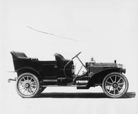 1909 Packard 30 Model UB touring car no top, right side view