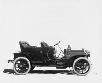 1909 Packard 18 Model NA close-coupled, left side view