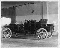 1909 Packard 30 Model UB close-coupled, three-quarter rear view, left side