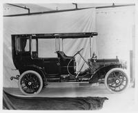 1909 Packard 30 Model UB demi-limousine, right side view