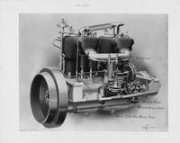 1909 Packard 30 Model UB engine diagram