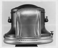 1910 Packard solar headlamp housing, plan elevation