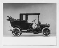 1910 Packard 18 Model NB, landaulet, back quarter collapsed, right side view