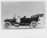 1910 Packard 30 Model UC touring car, left side view, top lowered