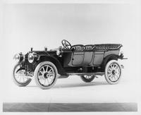 1911 Packard 30 Model UD phaeton, three-quarter front view, left side