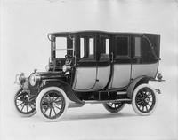 1911 Packard 18 Model NC fore-door landaulet, left side, quarter closed