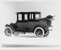 1911 Packard 30 Model UD fore-door, landaulet, quarter collapsed, five-sixth side rear