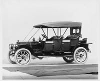 1912 Packard 6 close-coupled, left side, top raised