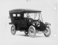 1912 Packard 30 Model UE touring car, three-quarter front view, left side