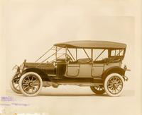 1912 Packard phaeton, left side view