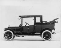 1912 Packard 6 landaulet, right side, quarter lowered