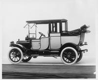 1912 Packard 18 Model NE landaulet, three-quarter rear view, left side