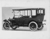 1912 Packard 30 Model UE touring car, five-sixth rear view, left side