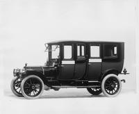 1912 Packard 6 fore-door imperial limousine, five-sixth front view, left side