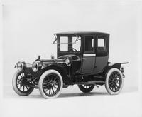 1912 Packard 30 Model UE coupe, three-quarter front view, left side