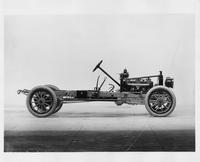 1912 Packard 6 stripped chassis, right side view