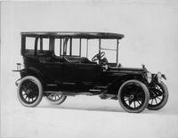 1913 Packard 38 touring car, five-sixth front view, right side