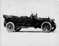 1914 Packard 2-38 phaeton, right side, top folded