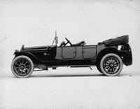 1914 Packard 2-38 phaeton, left side, top folded